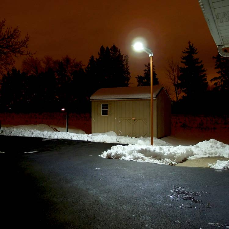 Ra60 Driveways And Parking Lot Solar Light With Remote