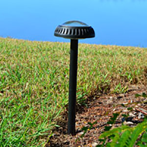 Pathway/Garden Solar Light - ORB2  (2pcs). Lights only your path, no wasted light.