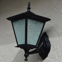 Column Mount Solar Light