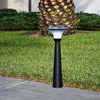 Pathway Solar Light - TRIUMPH. Entrance Pathway Brick Column Solar Lighting.