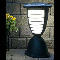 ECLIPSE2 Solar light. Column, deck, patio, pathway, pillar, entrance .