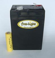 free-light best Solar Light Battery 4Ah