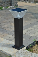 Millenia .8M Tall Pathway, Entrance Solar Light