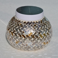 PARIS  Solar Table Light. Adds colorful hilights to your patio table.