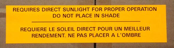 brightest solar lights