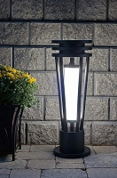 Pathway Entrance Solar Light - VICTORY2. Up to 16' of solar light for 5 hous per night.