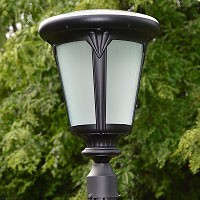 Colonial Post Mount Solar Light