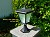 Column Mount Solar Light - GALAXY Black