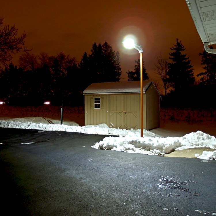 Driveway Parking Lot Solar Light