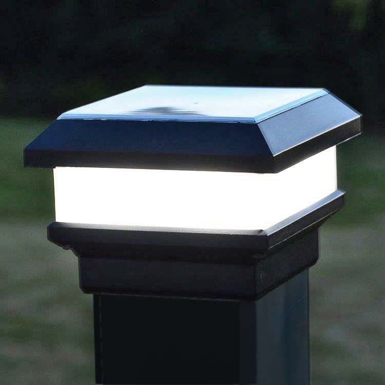Solar Post Cap Light Pcl3 By Free Light Solar Light For 3