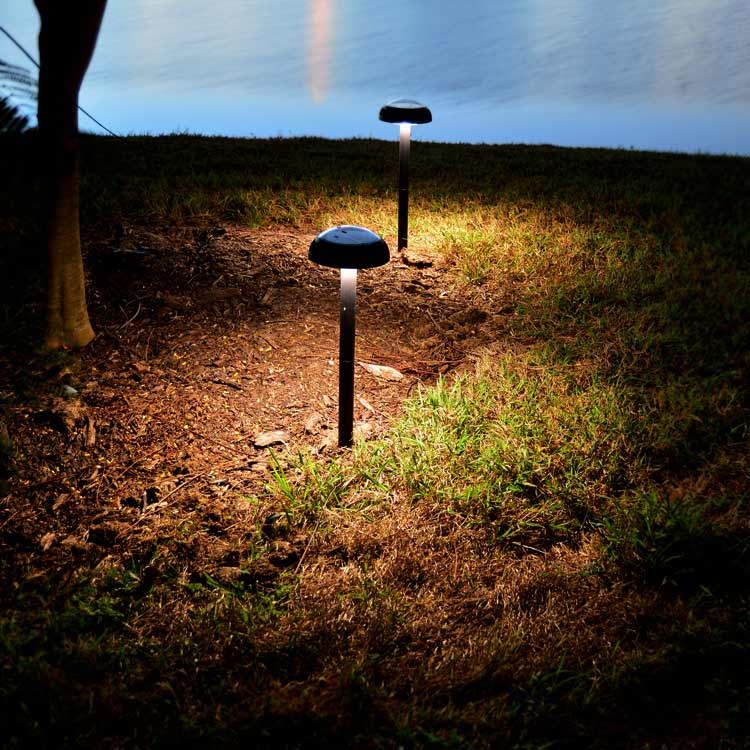 ORB2 Solar Lights for Outdoor Gardens and Paths