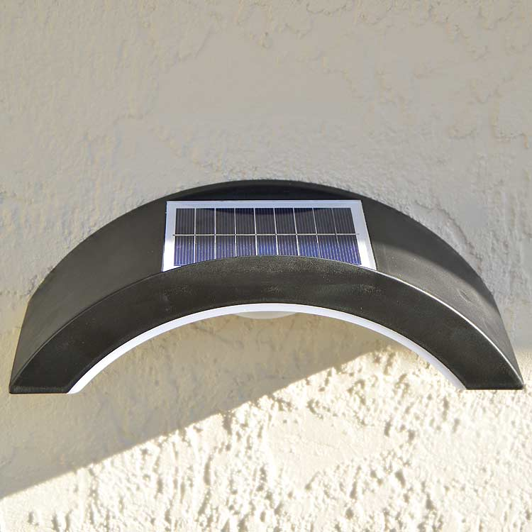Contemporary Bright Wall Mount Solar Light