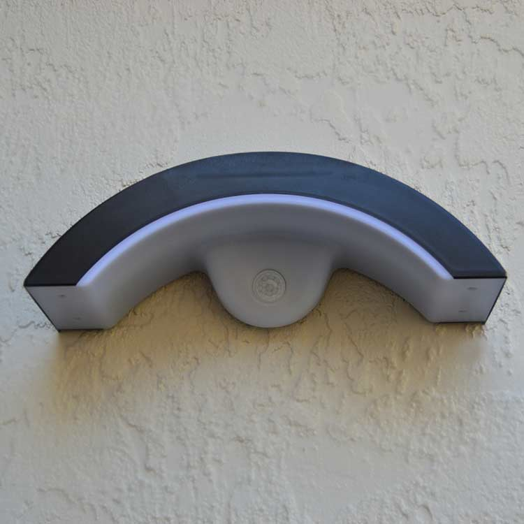 Sleek Wall Mounted Solar Light