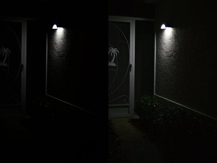 Front Door Solar Light No Wires