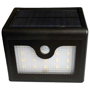 Wall Mount Solar Light - VISTA. Great Solar Light for Car Parks and Entrance Walkways.