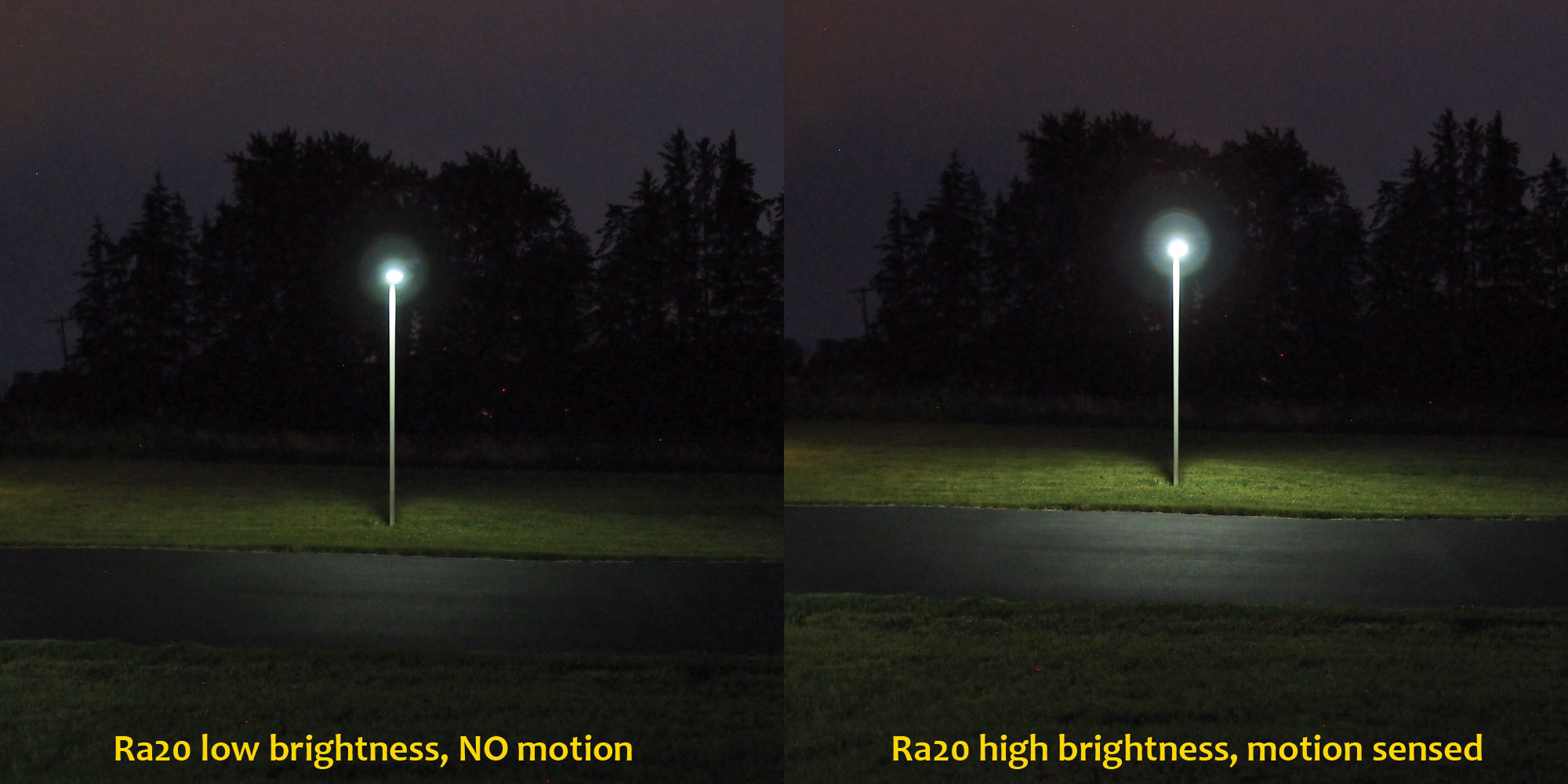Solar Light For Driveways Parking Lots Walking Trails Ra20