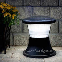 Bright solar light for outdoor patios and more