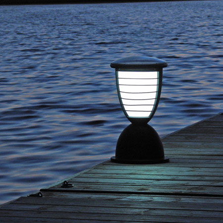 Solar light for ambiance and powerful light