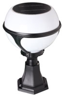 free-light solar light round globe shaped