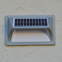 Wall Mount Solar Light - HORIZON. Easy installation with reliable light