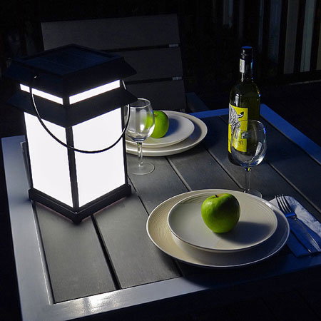 Solar lantern for tabletop by free-light