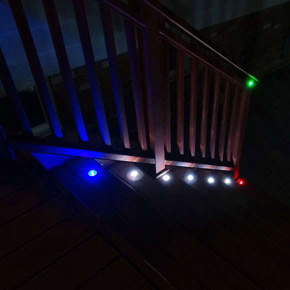 Stair and Deck Solar Lights