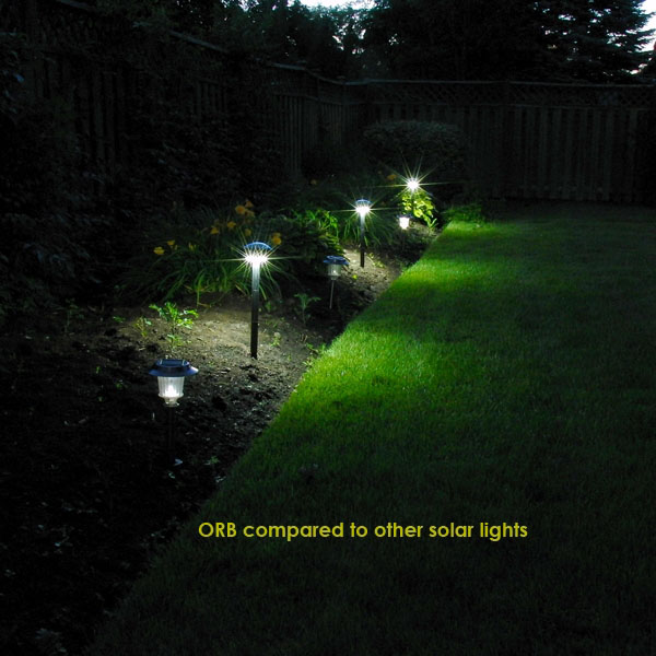 Garden Solar Light Highlight Plantings