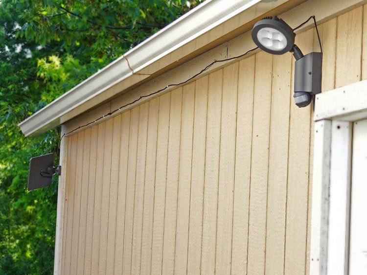Security Solar Lights Sentinel Solar Security Light For