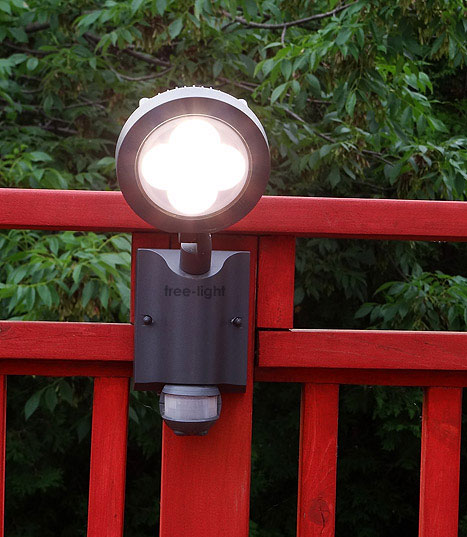 security solar light by free-light