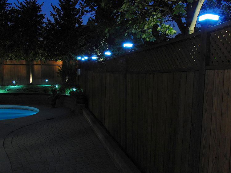 4x4 Fence Post Solar Light By Free Light 4x4 Post Cap