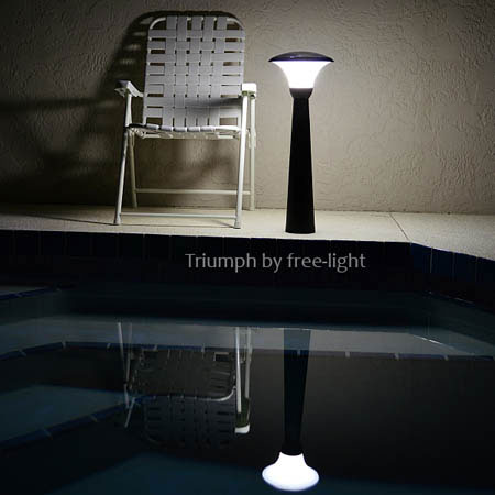 poolside wireless solar lights by free-light