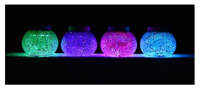 beautiful free-light solar table lights