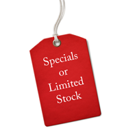Specials or Limited Stock