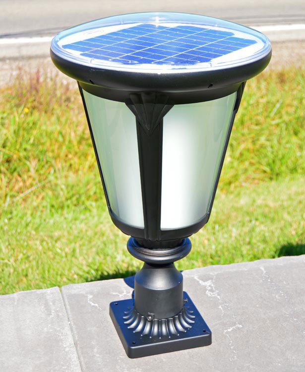colonial post mount solar light by free-light