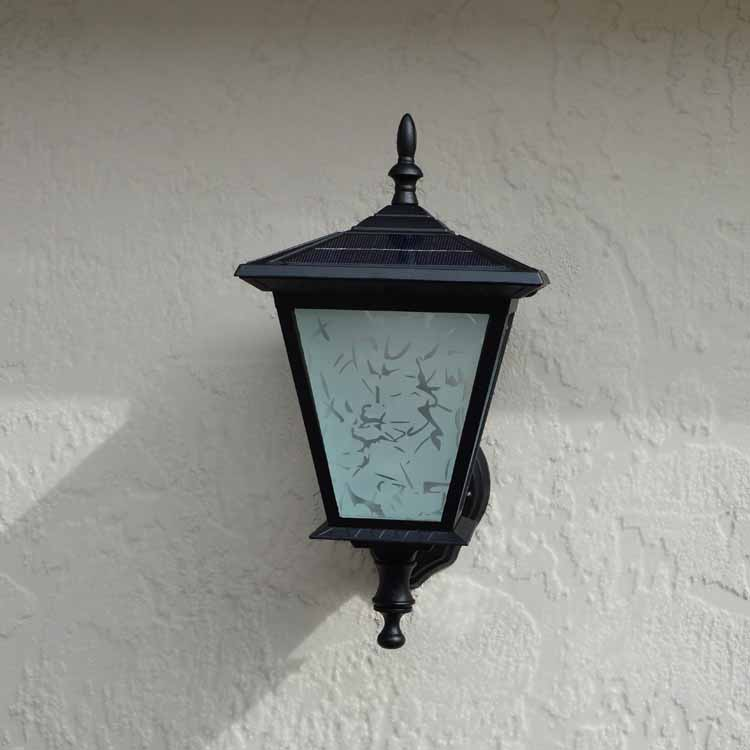 Wall Mounted Solar Light for Entrances Doorways