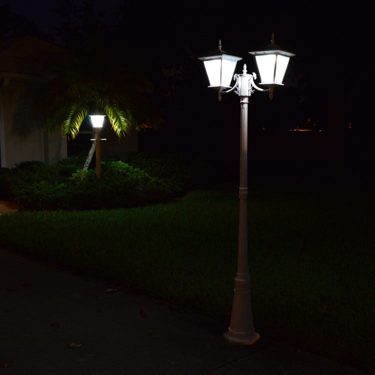 Solar Lights For Driveway Pillars: Pillar Column Mount Solar Lights By Free-Light