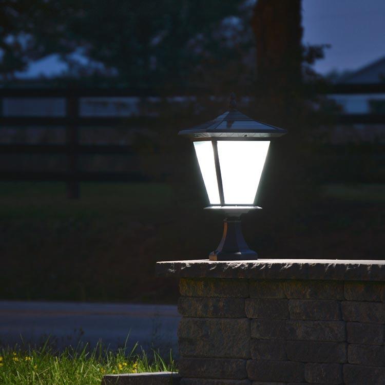 Solar Lights For Driveway Pillars: GALAXY PLUS Solar Pillar & Column Light