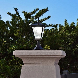 Solar light for bright column