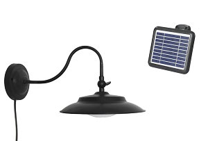 Curved Lamp Neck Solar Light