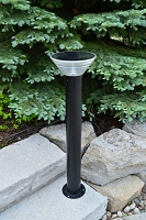 "39"" Tall Saturn Pathway Solar Light"