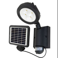 motion activated security solar light