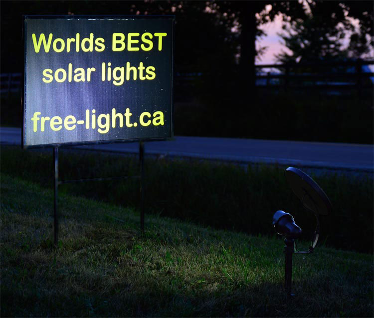 Outdoor Spotlight Solar - Reliable Easy Installation