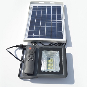 APOLLo Solar Flood & Sign Light. Bright light with remote control operation