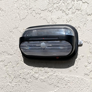 HELIOS Motion Sensor Wall Mount Solar Light