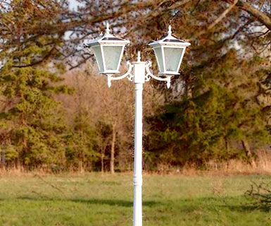 Courtyard Solar Light