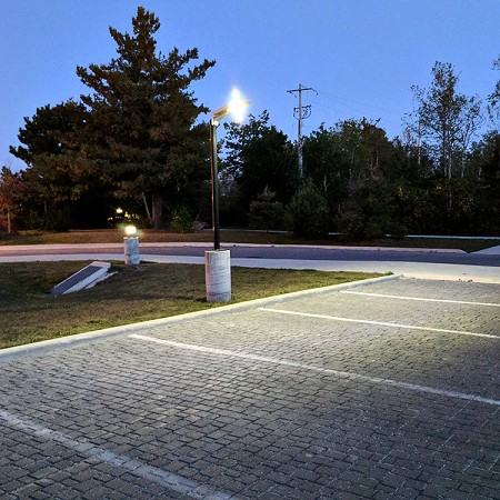 RA60-All in One Solar Driveway Parking Area Light