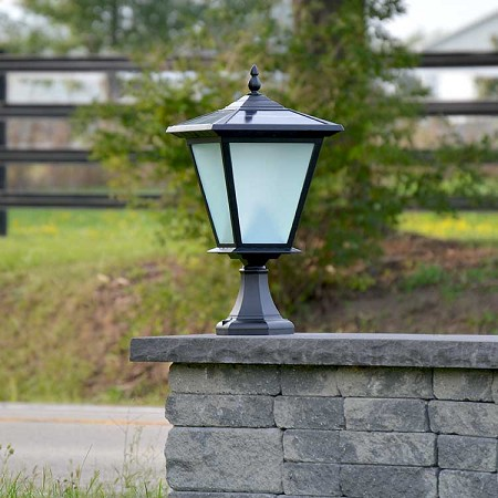 GALAXY PLUS Solar Pillar & Column Light - over 30' of illumination