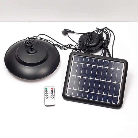 Gazebo Shed Porch Solar Light - Works Indoor & Outdoor