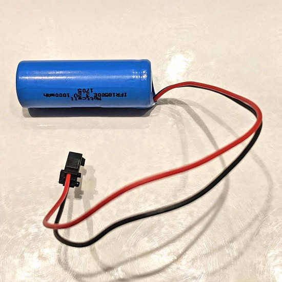 PCL 3 - 4 - 6 - 46 Coach4 - 6 - 46 replacement 3.2V battery