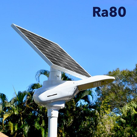 RA80-Fully Adjustable Solar Driveway Parking Area Light